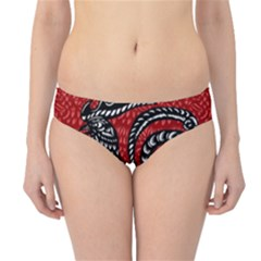 Year of the Rooster Hipster Bikini Bottoms