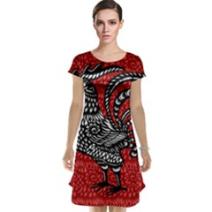 Year of the Rooster Cap Sleeve Nightdress