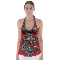 Year of the Rooster Babydoll Tankini Top