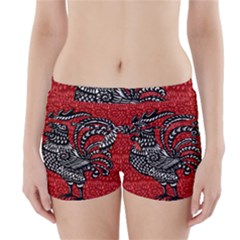 Year of the Rooster Boyleg Bikini Wrap Bottoms