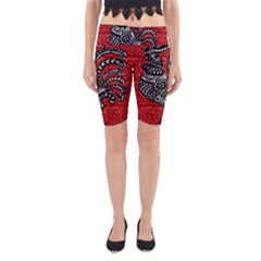 Year of the Rooster Yoga Cropped Leggings
