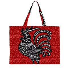 Year of the Rooster Large Tote Bag