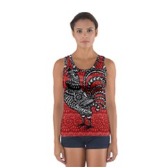 Year of the Rooster Women s Sport Tank Top