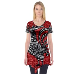 Year of the Rooster Short Sleeve Tunic