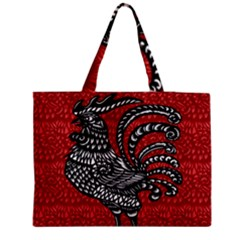 Year of the Rooster Medium Zipper Tote Bag