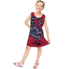 Year of the Rooster Kids  Tunic Dress