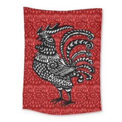Year of the Rooster Medium Tapestry