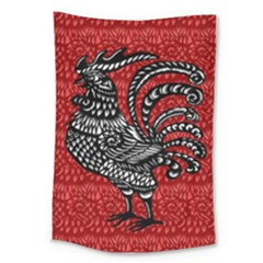 Year of the Rooster Large Tapestry