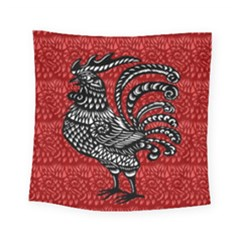 Year of the Rooster Square Tapestry (Small)