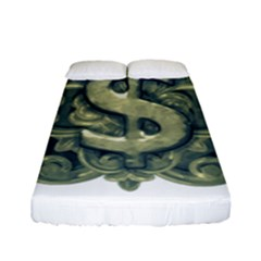 Money Symbol Ornament Fitted Sheet (Full/ Double Size)