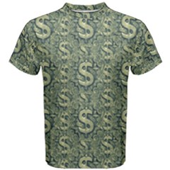 Money Symbol Ornament Men s Cotton Tee