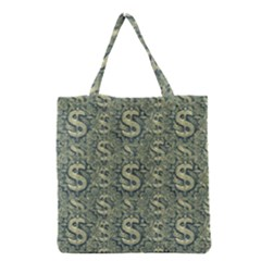 Money Symbol Ornament Grocery Tote Bag