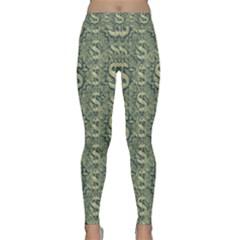 Money Symbol Ornament Classic Yoga Leggings