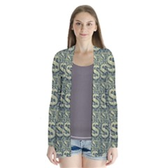 Money Symbol Ornament Cardigans