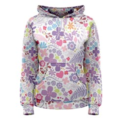 Colorful flower Women s Pullover Hoodie