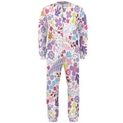 Colorful flower OnePiece Jumpsuit (Men)