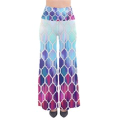 Purple moroccan mosaic Pants