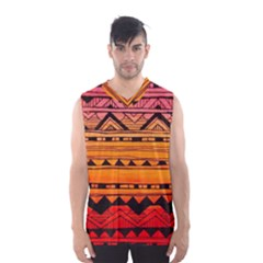 warm tribal Men s Basketball Tank Top