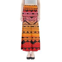 warm tribal Maxi Skirts