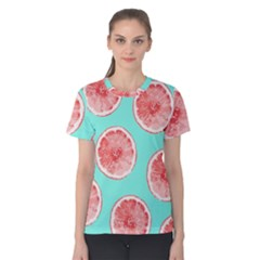 Cute pink lemon Women s Cotton Tee