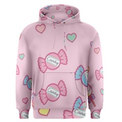 Cute candy Men s Pullover Hoodie
