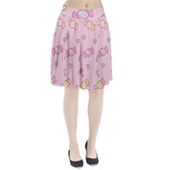 Cute candy Pleated Skirt