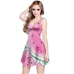 Cute watermelon Reversible Sleeveless Dress