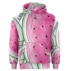 Cute watermelon Men s Pullover Hoodie