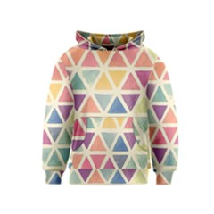 Colorful triangle Kids  Pullover Hoodie