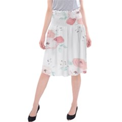 Lovely flowers Midi Beach Skirt