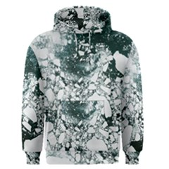 Black and white  Men s Pullover Hoodie