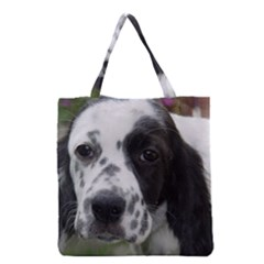English Setter Grocery Tote Bag