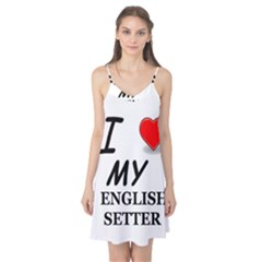 Eng Setter Love Camis Nightgown