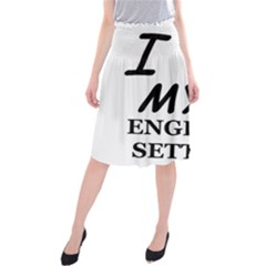 Eng Setter Love Midi Beach Skirt