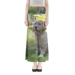 English Setter Orange Belton Puppy Maxi Skirts