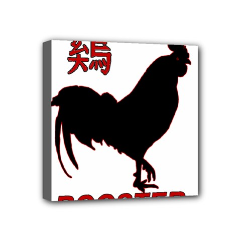 Year of the Rooster - Chinese New Year Mini Canvas 4  x 4
