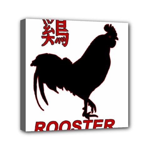 Year of the Rooster - Chinese New Year Mini Canvas 6  x 6