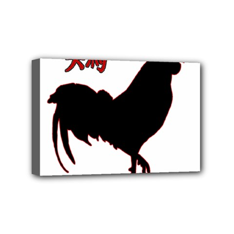 Year of the Rooster - Chinese New Year Mini Canvas 6  x 4