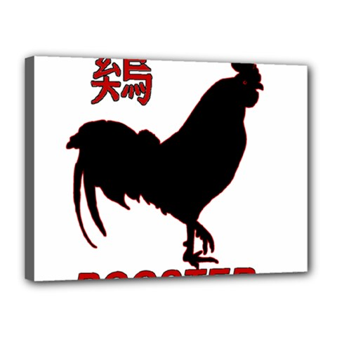 Year of the Rooster - Chinese New Year Canvas 16  x 12