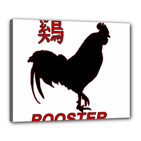 Year of the Rooster - Chinese New Year Canvas 20  x 16