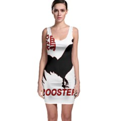 Year of the Rooster - Chinese New Year Sleeveless Bodycon Dress