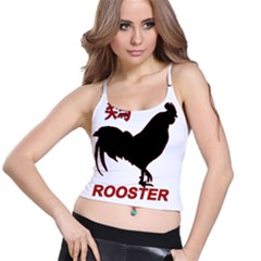 Year of the Rooster - Chinese New Year Spaghetti Strap Bra Top