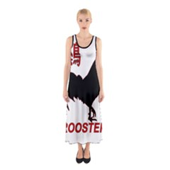 Year of the Rooster - Chinese New Year Sleeveless Maxi Dress
