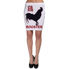 Year of the Rooster - Chinese New Year Bodycon Skirt