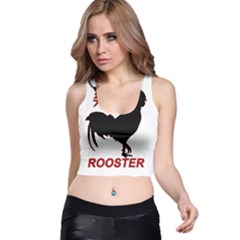Year of the Rooster - Chinese New Year Racer Back Crop Top