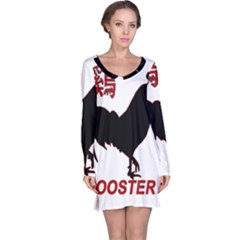 Year of the Rooster - Chinese New Year Long Sleeve Nightdress