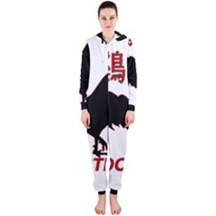 Year of the Rooster - Chinese New Year Hooded Jumpsuit (Ladies)