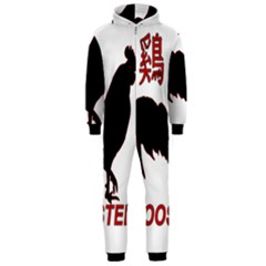 Year of the Rooster - Chinese New Year Hooded Jumpsuit (Men)