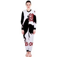 Year of the Rooster - Chinese New Year OnePiece Jumpsuit (Ladies)
