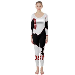 Year of the Rooster - Chinese New Year Long Sleeve Catsuit